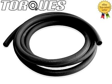 AN -10 (10AN JIC) Socketless Push On Fuel / Oil / Coolant Hose 1 Meter BLACK