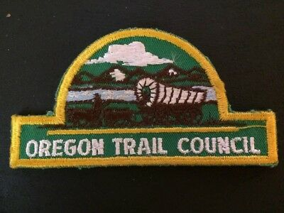 Oregan Trail Council Boy Scouts Of America Patch