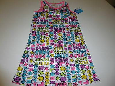 JV Girls Toddler Multi-color Nightgown   Size XS 4/5  NWT