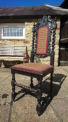 Gothic Victorian Dining Chairs, Great Examples!