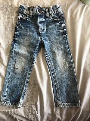 Marks And Spencer Boys Slim Leg Jeans 1.5-2 Years