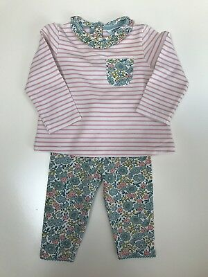 Mini Boden Baby Girl Outfit (3-6 Months)