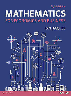 Mathematics for Economics and Business by Ian Jacques (Paperback, 2015)