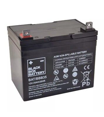 103y.  Black Box Battery 12V-35Ah/20HR AGM Non-Spillable