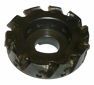 """6"""" Carboloy R220.43-06.00C Indexable Face Mill Stock #fm1066"""