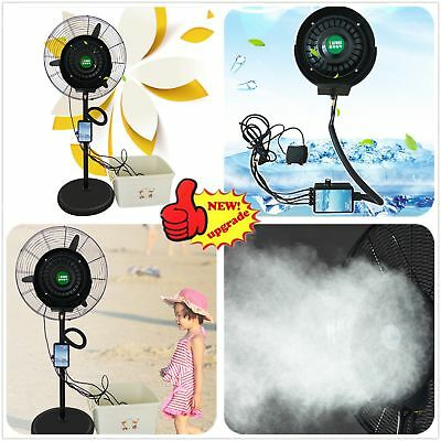 Outdoor Spray Fan Cooling Misting Fan Water Spray Fan Transformation Parts P5