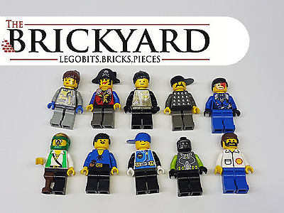 10 X Lego Random Minifigures From Assorted Sets And Series 11B7