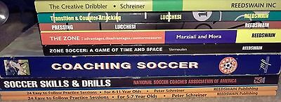 Soccer Coaching Book Bundle-9 great books at a great price!!!