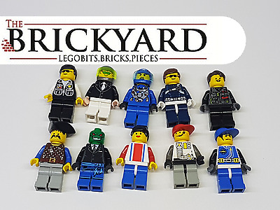 10 X Lego Random Minifigures From Assorted Sets And Series 11B8