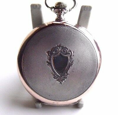 ANTIQUE SOLID SILVER  SWISS/GERMAN POCKET WATCH  SERVICED c1900 FWO