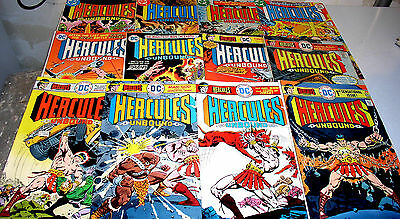 Hercules Unbound 1 2 3 4 5 6 7 8 9 10 11 And 12 Complete Bronze Age Set [Wally W