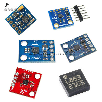 HMC5883L GY-271 GY-273 3V-5V Triple Axis Compass Magnetomet Sensor for Arduino