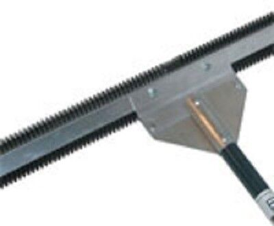 Serrated lake weed cutter for Chemical Free Aquatic weed remover