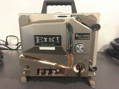 Eiki Slim Line Movie Projector SSL-1 16MM - Tested And Working!