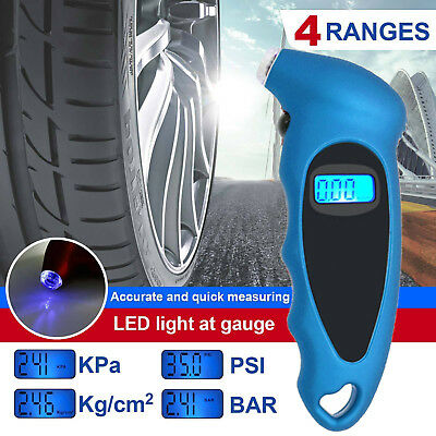 New Digital Air Pressure Gauge Tire Tyre for Truck Car Motorcycle Bike 0-150 PSI