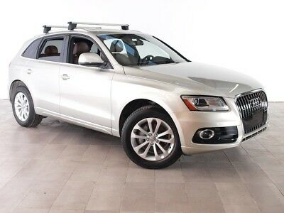 2013 Audi Q5 Premium Sport Utility 4-Door 2013 AUDI Q5 AWD LEATHER HEATED SEATS