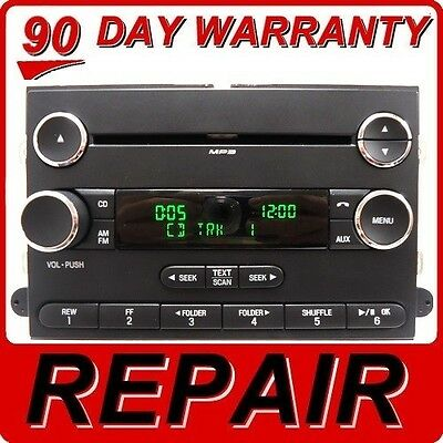 REPAIR YOUR 04 -10 FORD Lincoln Mercury OEM Radio Stereo AM FM Single CD Player
