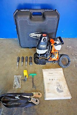 Jancy Slugger HoleMaker II Portable Magnetic Drill Press w/ Case 110V Hougen