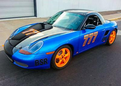 1999 SPB Spec boxster racecar incredible build fresh and ready to go.
