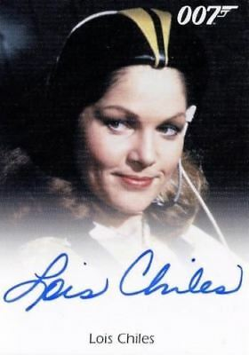 James Bond 50th Anniversary Series One Lois Chiles Autograph Card