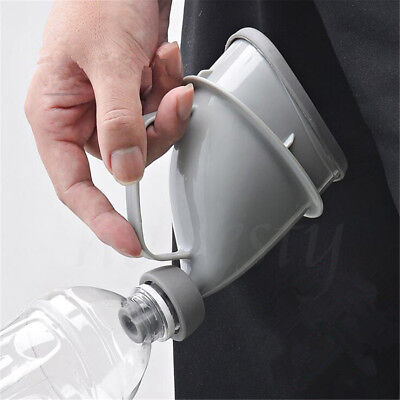 1pc Portable Silicone Potty Urinal Storage Emergency Bottle Car Camping Travel
