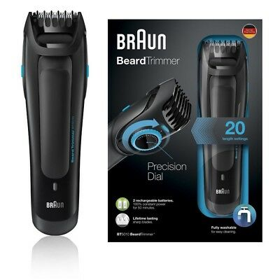 Braun BT5010 Men's Beard Trimmer Corded & Cordless Washable Worldwide Voltage