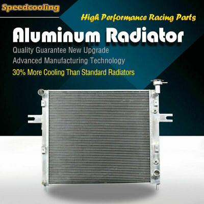 2263 2Row Aluminum Radiator For Jeep Grand Cherokee 1999 2000 4.7 V8