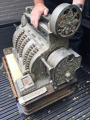 Antique National Cash Register Model 542-E - Make Offer