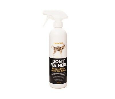 Sharples and Grant Clean & Tidy Don't Pee Here Deterrent Spray 500ml
