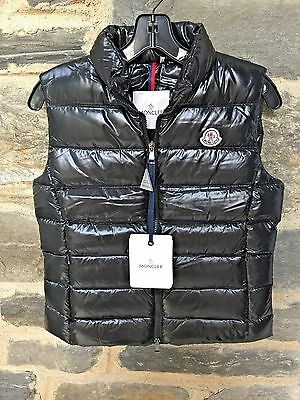 NWT $545 Moncler Women's Ghany Quilted Puffer Vest - Black - Size 2 - Medium.