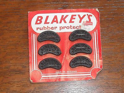 Old Card Display with Blakeys Rubber Protectors for Shoes