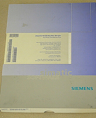 Siemens 6AV6618-7FD01-2AB0 WINCC FLEXIBLE /RECIPES FUER WINCC FLEXIBLE RUNTIME
