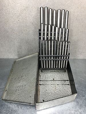 Huot A - Z Drill Index Blank Set - USA Made Blanks - Complete