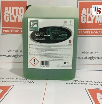 Autoglym Car Shampoo Conditioner 5 Litre 5L (PROFESSIONAL USE - ORIGINAL PACK)