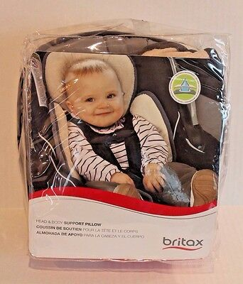 Britax Infant Baby Head & Body Support Pillow for Car Seats & Strollers NEW
