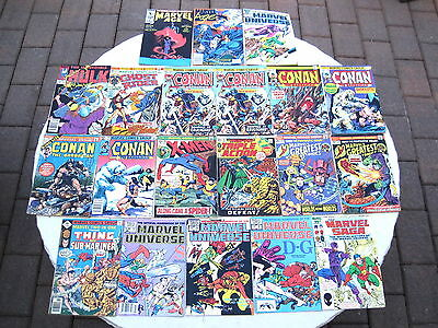 Comic Book Lot 88 Pieces Marvel / DC Various Years
