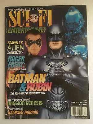Sci-Fi Entertainment Magazine July 1997 Sc-Fi Channel Back-Issue Collectible