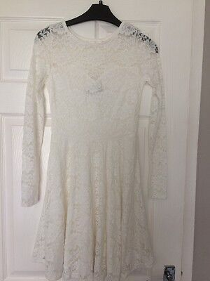 Women's Size 6 White Lace Dress