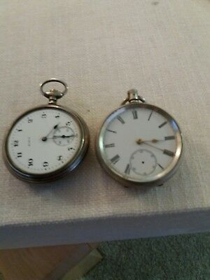 solid silver pocket watches