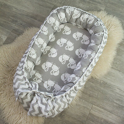 Baby pod, baby Nest for newborn, co sleeper, babynest, baby nest bed, fox