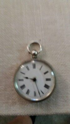 ladies pocket watches solid silver