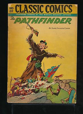 THE PATHFINDER 1940s Classic Comics #22 HRN 32 VG/FN