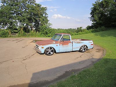 1968 Chevrolet C-10  1968 Chevrolet C10 Short Bed Patina Air Bagged Shop Truck Southern Belle