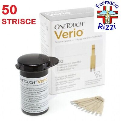 One Touch Verio 50 Strisce Glicemia