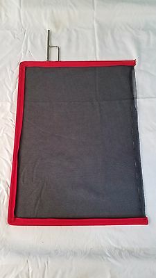 24x36 Double Net Blk - Open End Scrim - Norms Matthews American