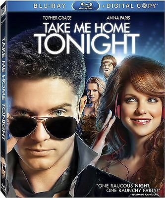 BRAND NEW! FACTORY SEALED! Take Me Home Tonight Blu-ray