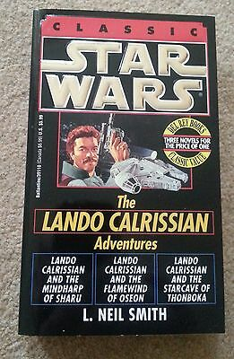 STAR WARS The LANDO CALRISSIAN TRILOGY 3 Books in 1 - US Edition - NEW