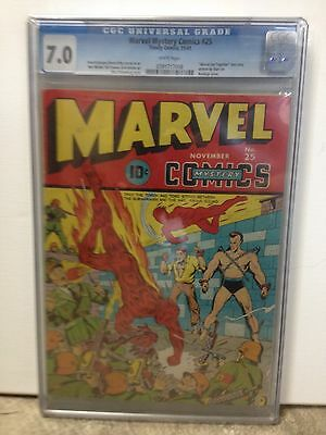 Marvel Mystery Comics #25 CGC 7.0 (1941)