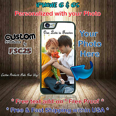 Custom Phone Cases Personalized gifts Your Photo for Apple iPhone 6s iPhone 6