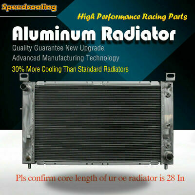 2334 Aluminum Radiator For Chevrolet Silverado 1500 2500 Cadillac Escalade More